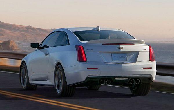 2017 Cadillac ATS-V cadillac cars Detroit Motor Show