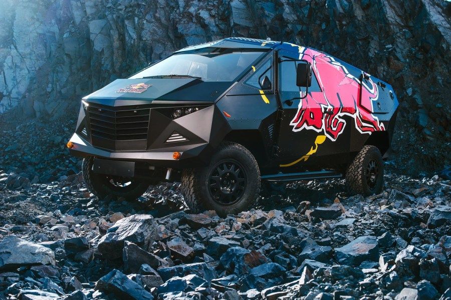 The Red Bull x Land Rover Party Van-00