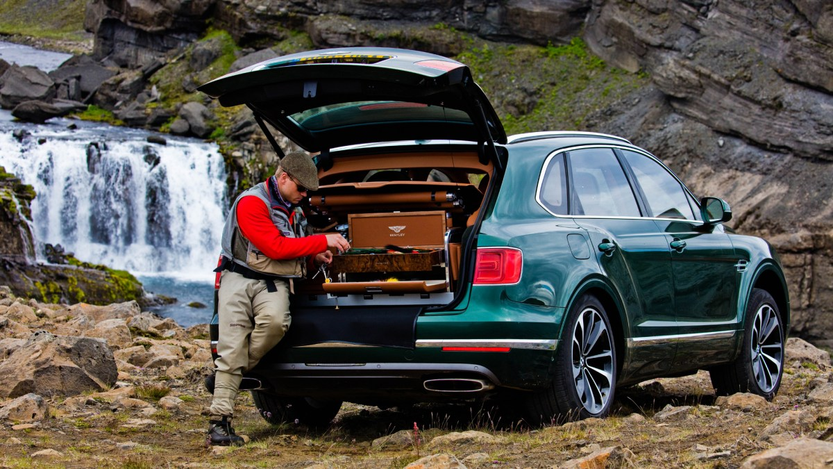 Bentley Bentayga is Perfect for a Day of Fly Fishing