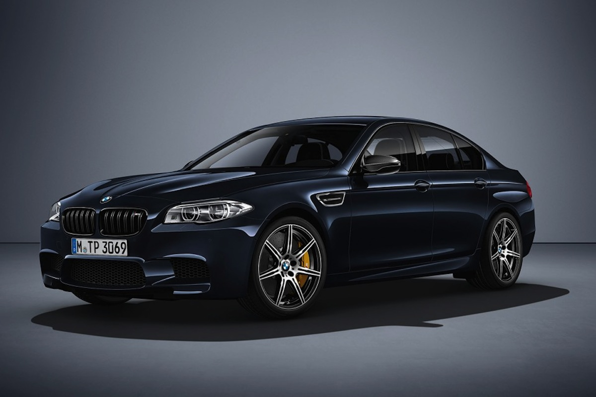 "BMW Unveils New M5 ""Competition Edition"""