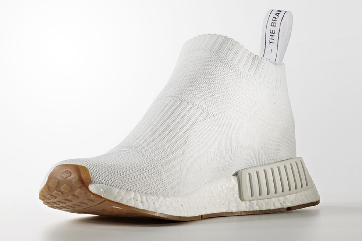 The Adidas NMD City Sock Will Return In A White and Gum Colorway