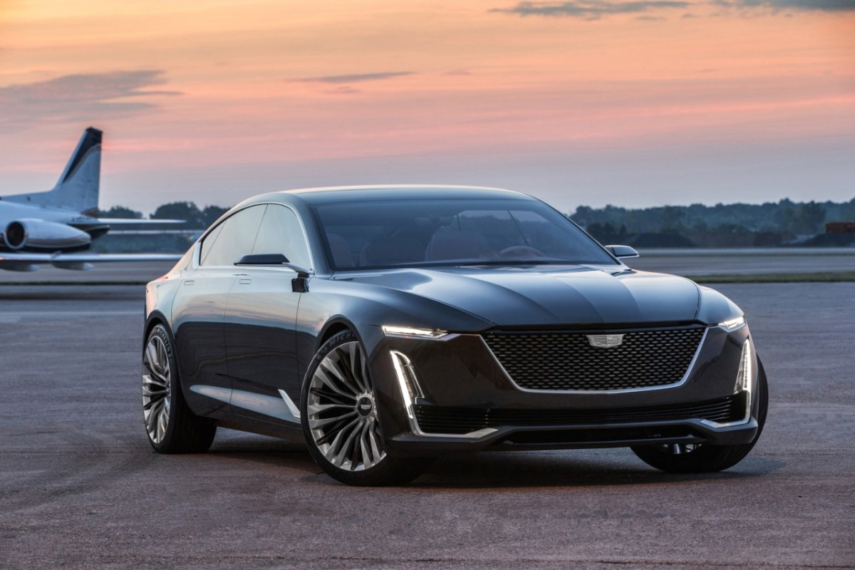 Cadillac's New Escala Concept Points to the Future
