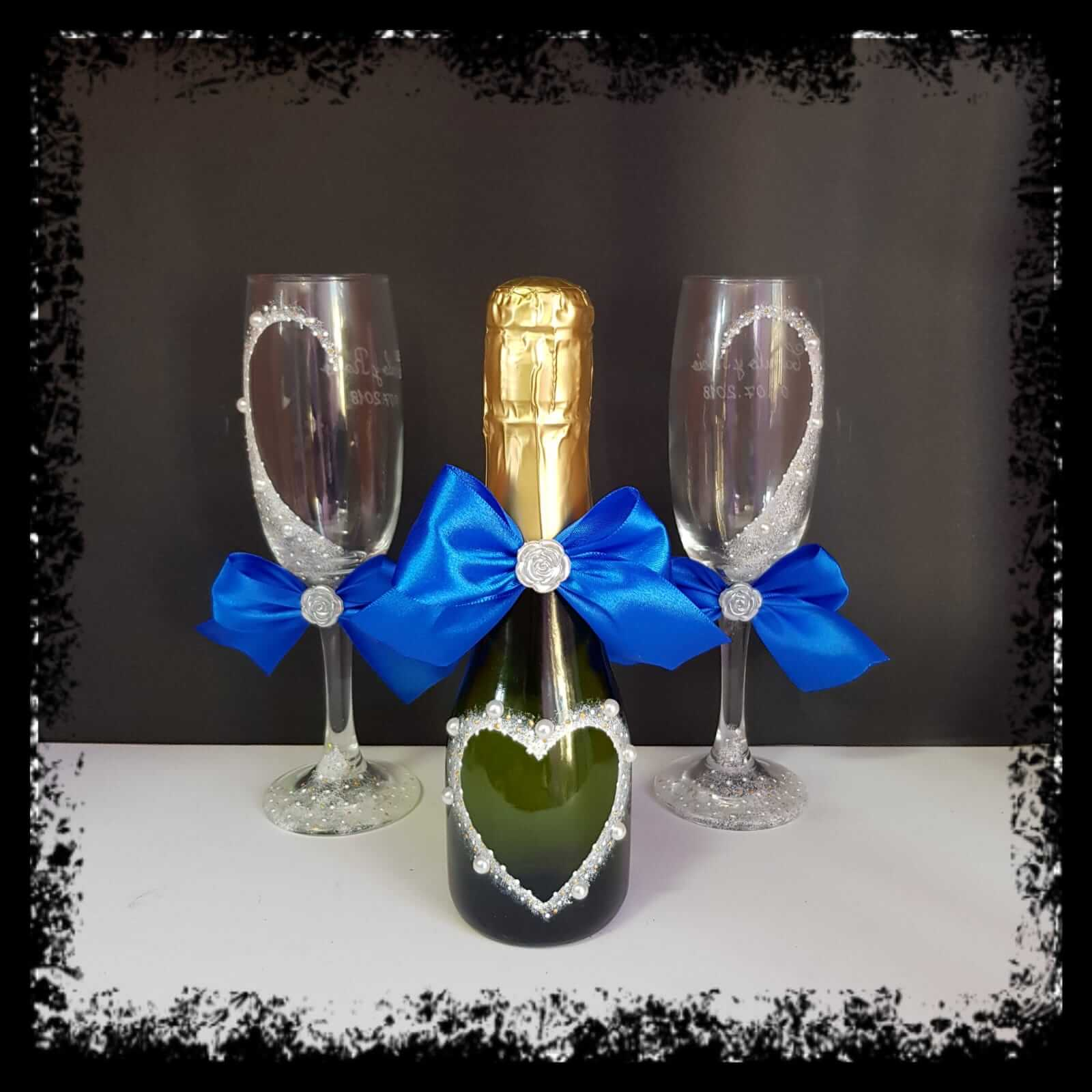 Botellas De Vidrio Decoradas Para Boda Botellas Decoradas