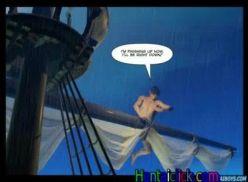 Hentai gay com piratas safados.