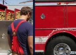 Suruba Gay no corpo de bombeiros.