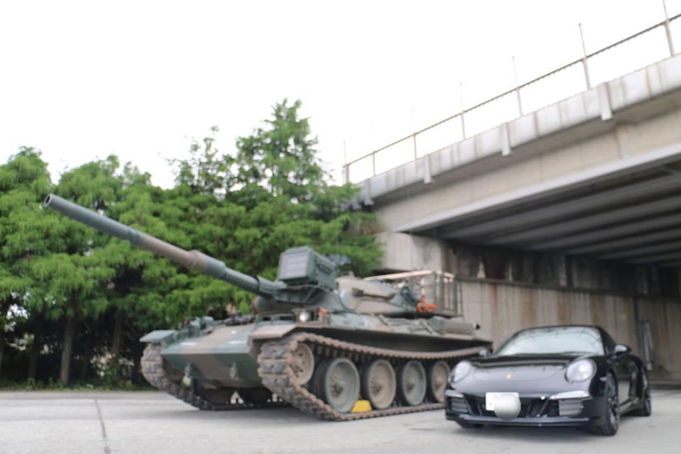 戦車とポルシェ