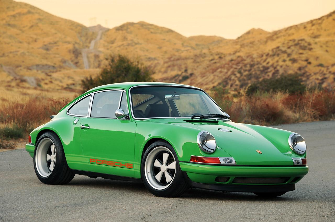 Sleeper Car Wallpaper Singer Racing Green Porsche 911 Porsche Mania