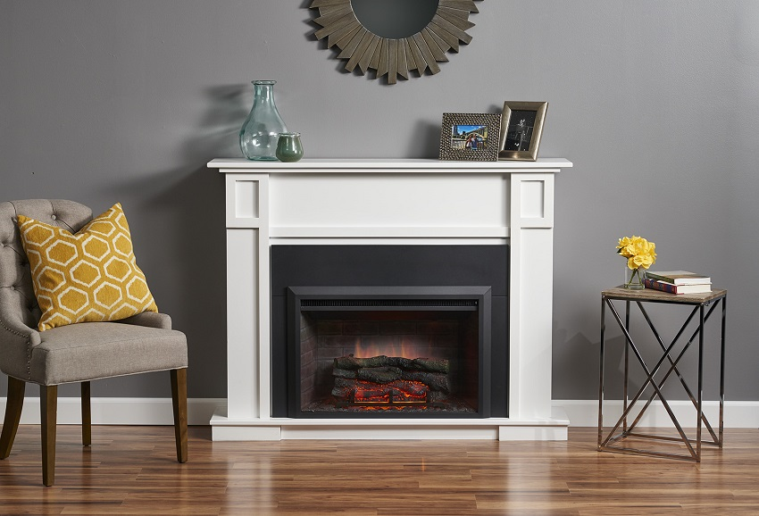 "Shelf Insert 36"" Gallery Collection Zero-clearance Electric Fireplace"