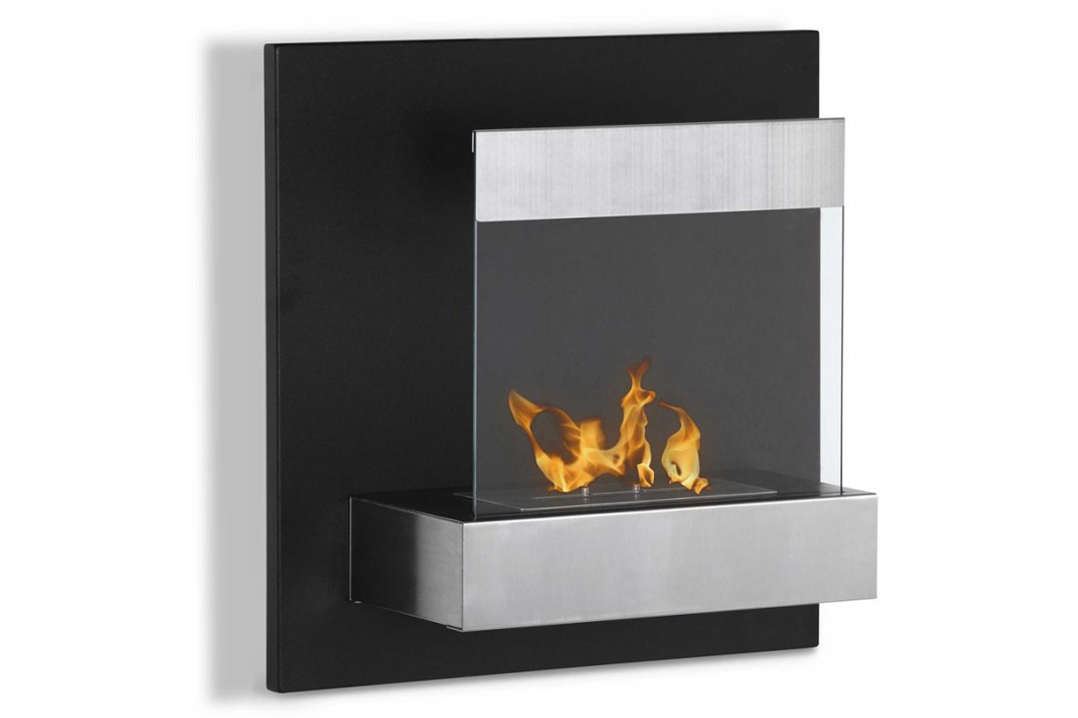 Ventless Wall Mount Gas Fireplace 23 75 Quot Ignis Melina Wall Mounted Ventless Ethanol Fireplace