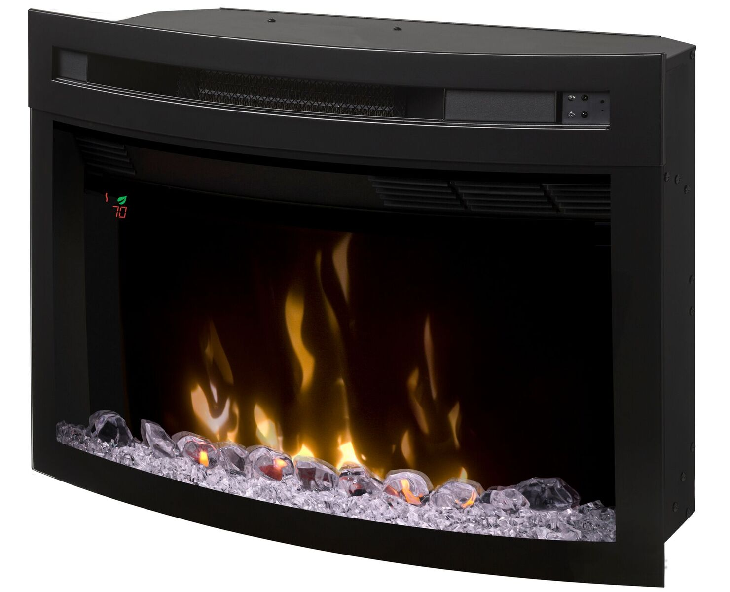 Curved Electric Fireplace 26
