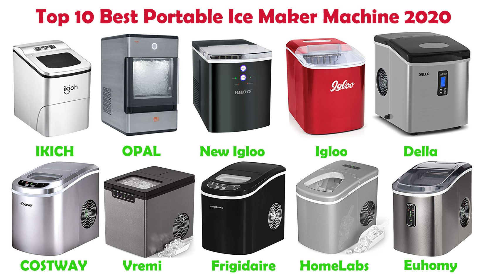 12 Best Countertop Portable Ice Maker 2020 Reviews Cheap Small Compact