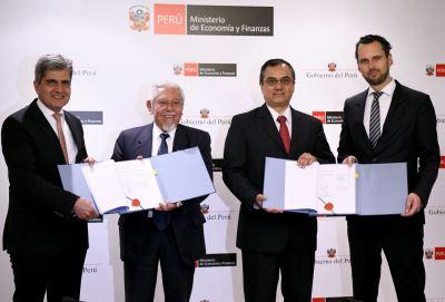 Peru, KfW ink loan contract to finance wastewater treatment | News | ANDINA - Peru News Agency
