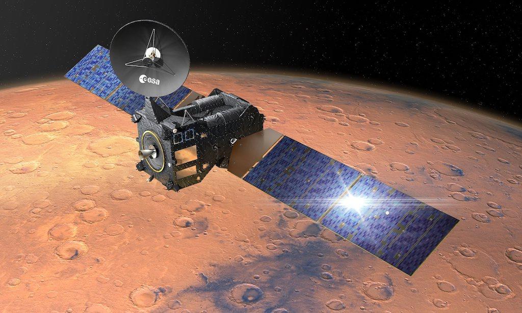 Schiaparelli chega a Marte