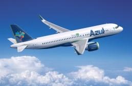 Azul voará com Airbus A320NEO para 14 destinos domésticos em novembro