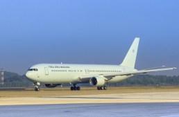 Boeing 767  da Força Aérea Brasileira já está no Brasil