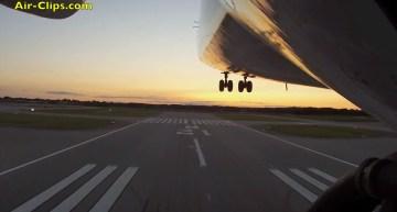 Antonov 225 Mriya OUTBOARD CAMERA TAKEOFF – RARE! [AirClips]