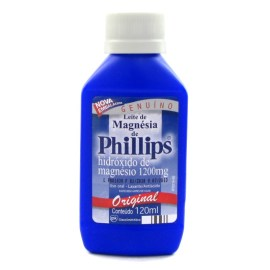 A Phillips, que também produz pasta de dente sem flúor, é uma das marcas que fabrica o leite de magnésia