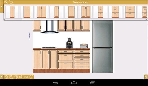Diseño De Cocinas 3d Gratis Español Ez Kitchen + Kitchen Design For Android - Free Download