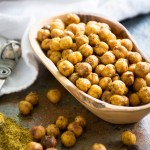Berbere Roasted Chickpeas