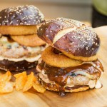 Smoky BBQ Turkey Burgers with Chipotle Mayo