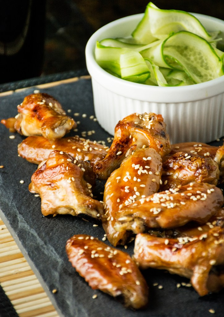 Sweet & Sticky Japanese Chicken Wings