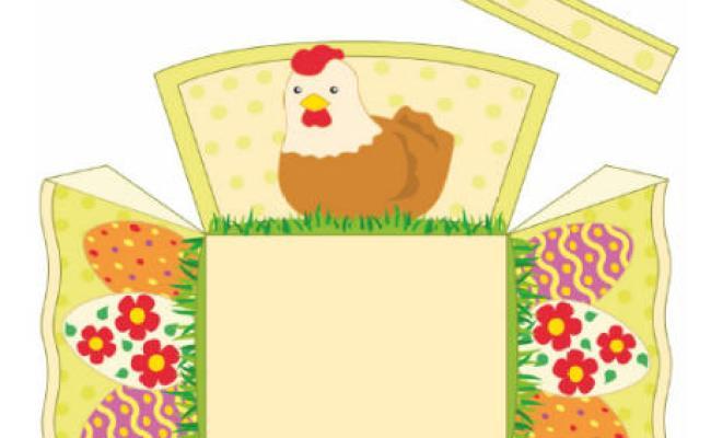 Easter basket printable 460