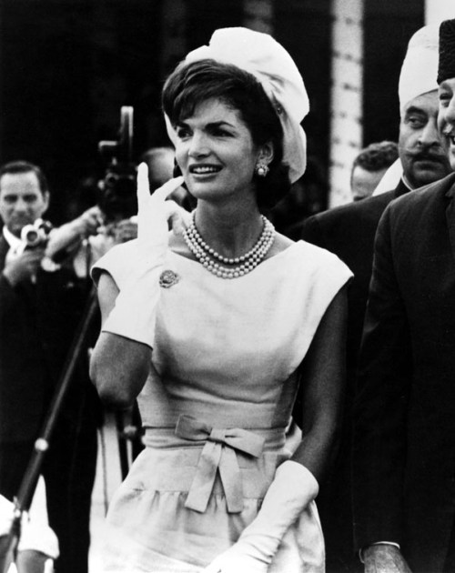 Jacqueline Kennedy was one of Oscar De La Renta's many prestigious clientèle