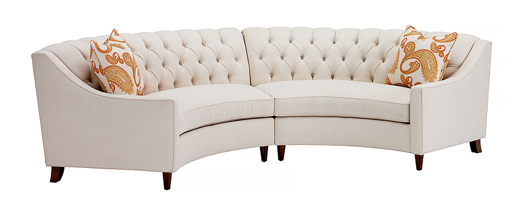 Curved Sofa The Memphis Curved Sofa Portland Furniture