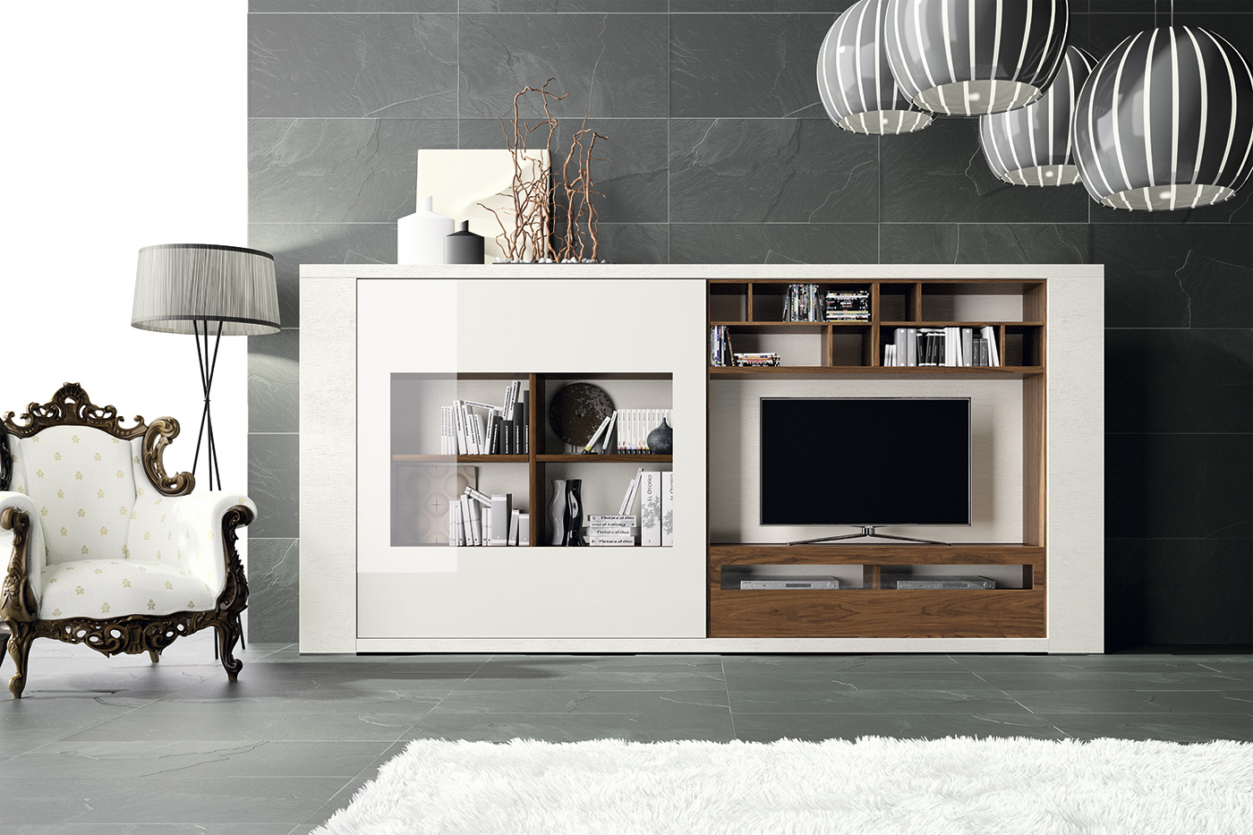 Salon Arabe Barato Mueble De Tv Compacto Exclusive En Portobellostreet Es
