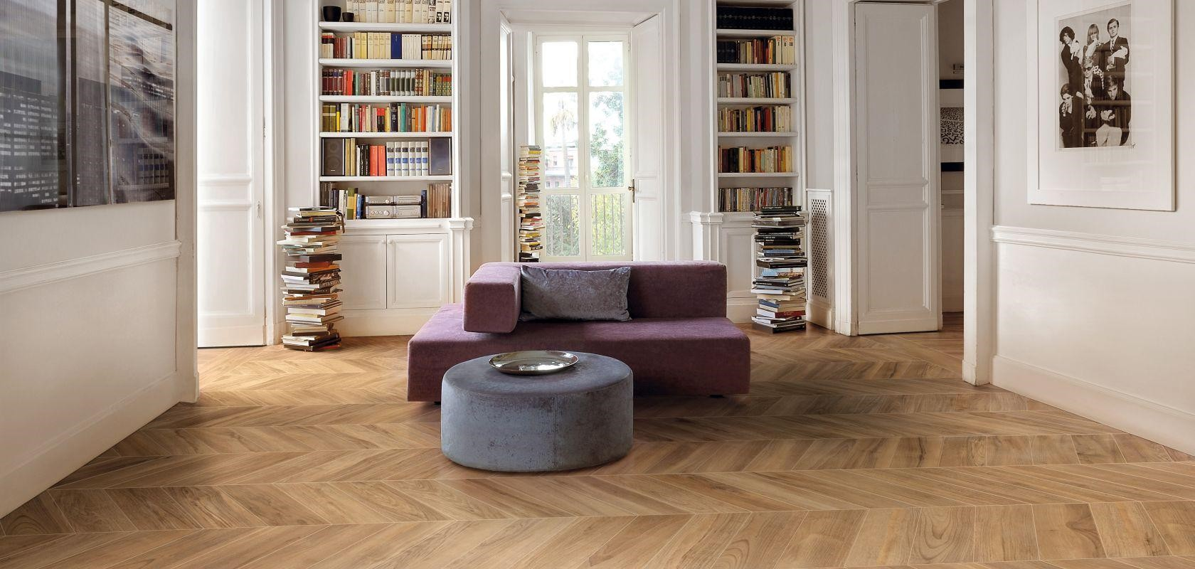 Pose Carrelage En Chevron Carrelage Imitation Parquet Neutre Private Room - Porto Venere