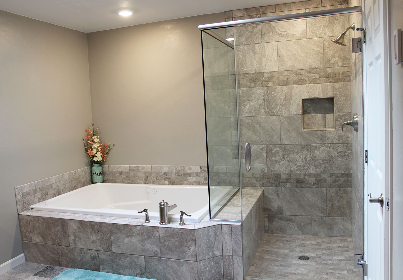 Bathroom Remodel Master Bathroom Remodel Custom Tile Portside Builders