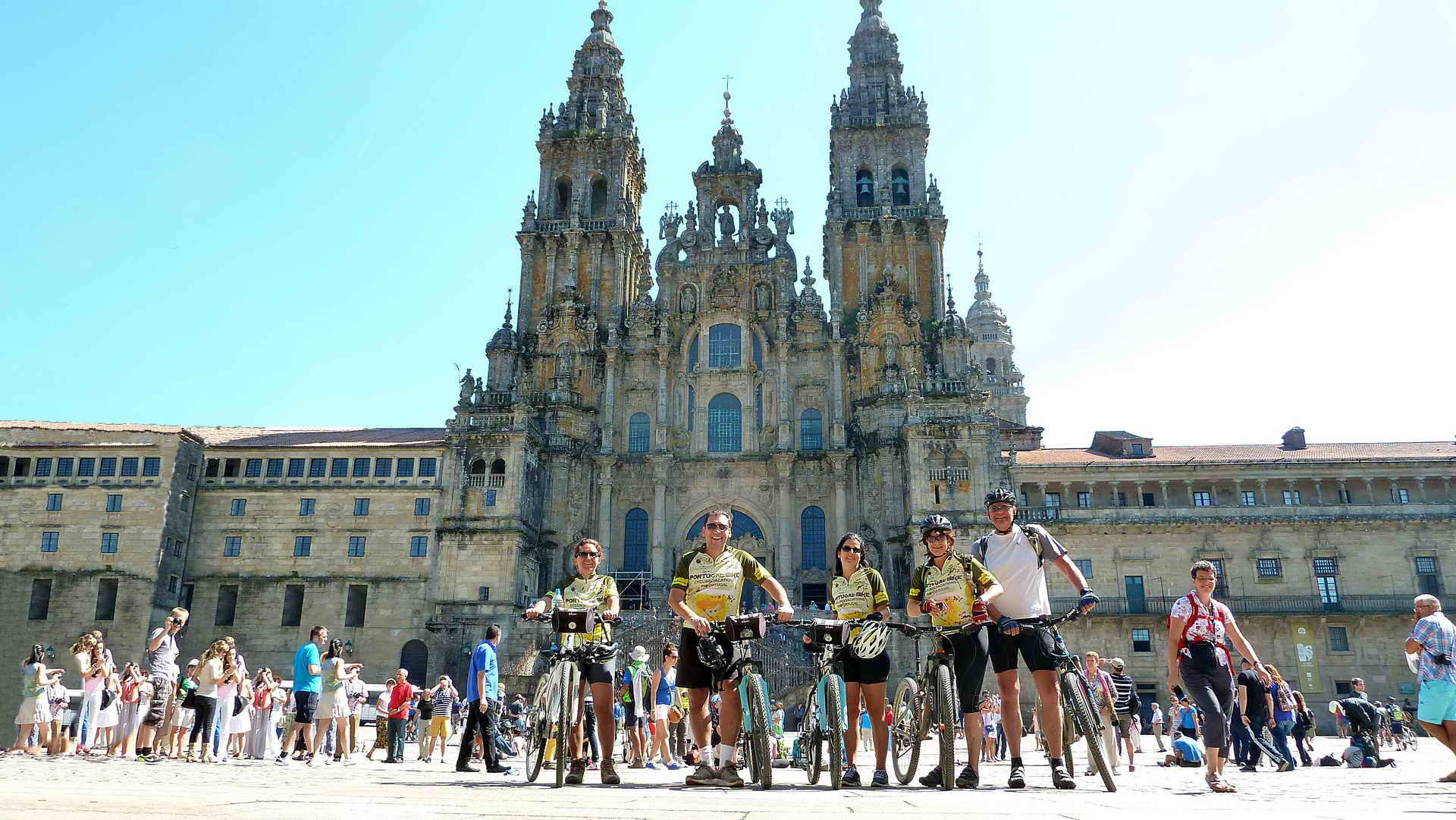 Camino Santiago Bike Cycling The Camino One Of The Oldest Pilgrimage Routes Portugal