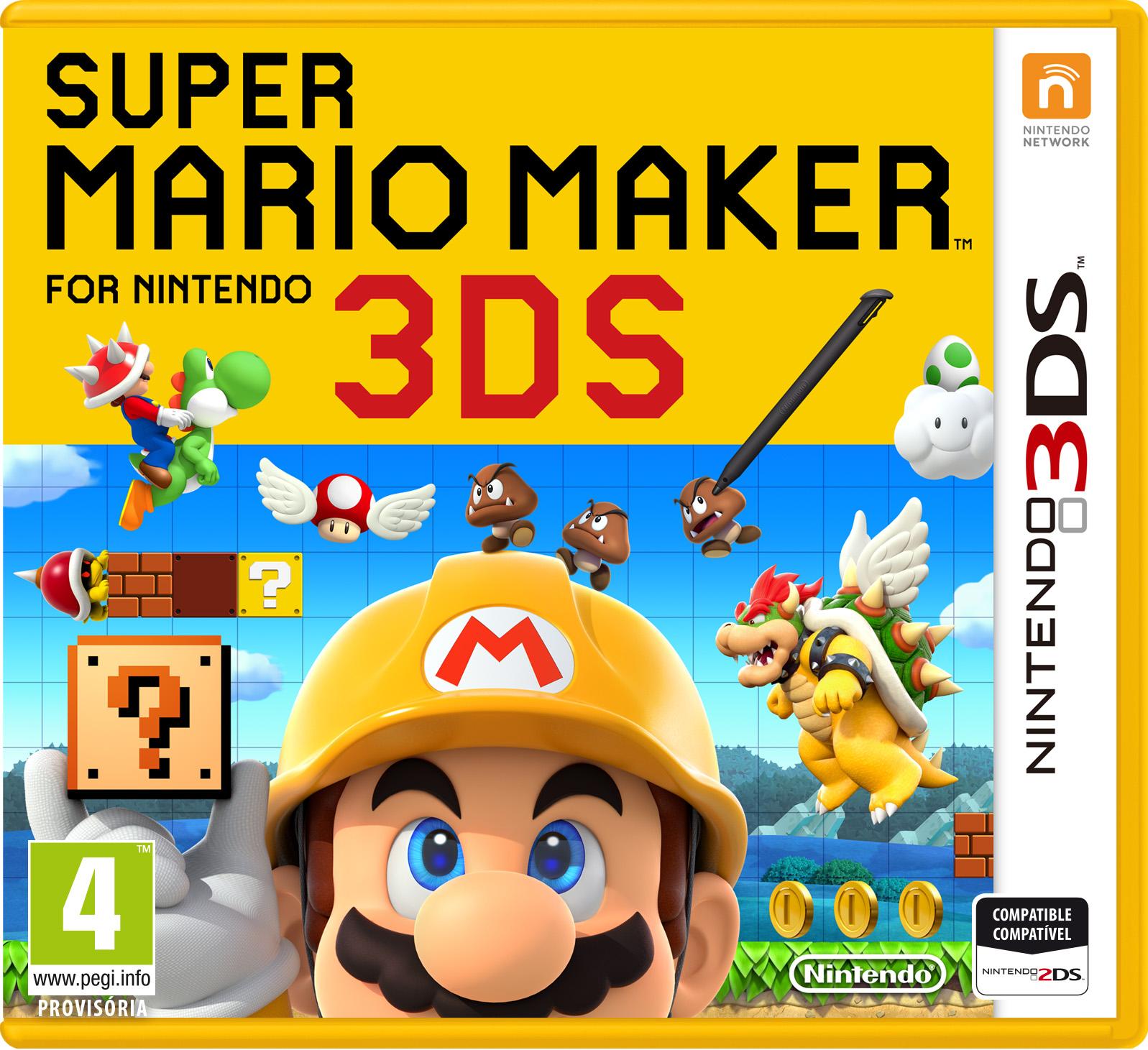 ''Super Mario Maker'' chega em dezembro para o 3DS