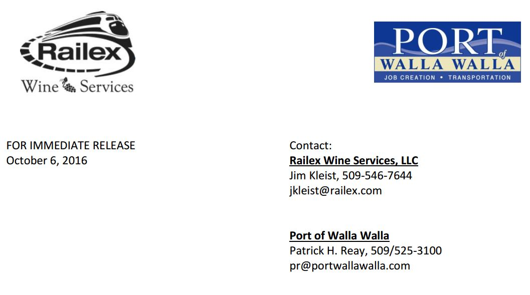 Press Release Phase 2 Expansion Of Wine Distribution