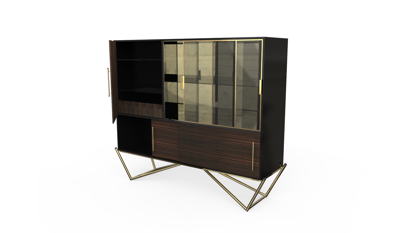 Built In Kitchen Cabinets Zimbabwe Hines Cabinet By Porustudio Breath Out Creativity