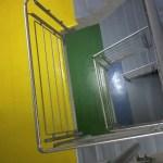 Żywice na klatce schodowej