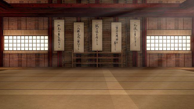 3d Door Wallpaper Martial Arts Dojo Interior Interiors For Daz Studio