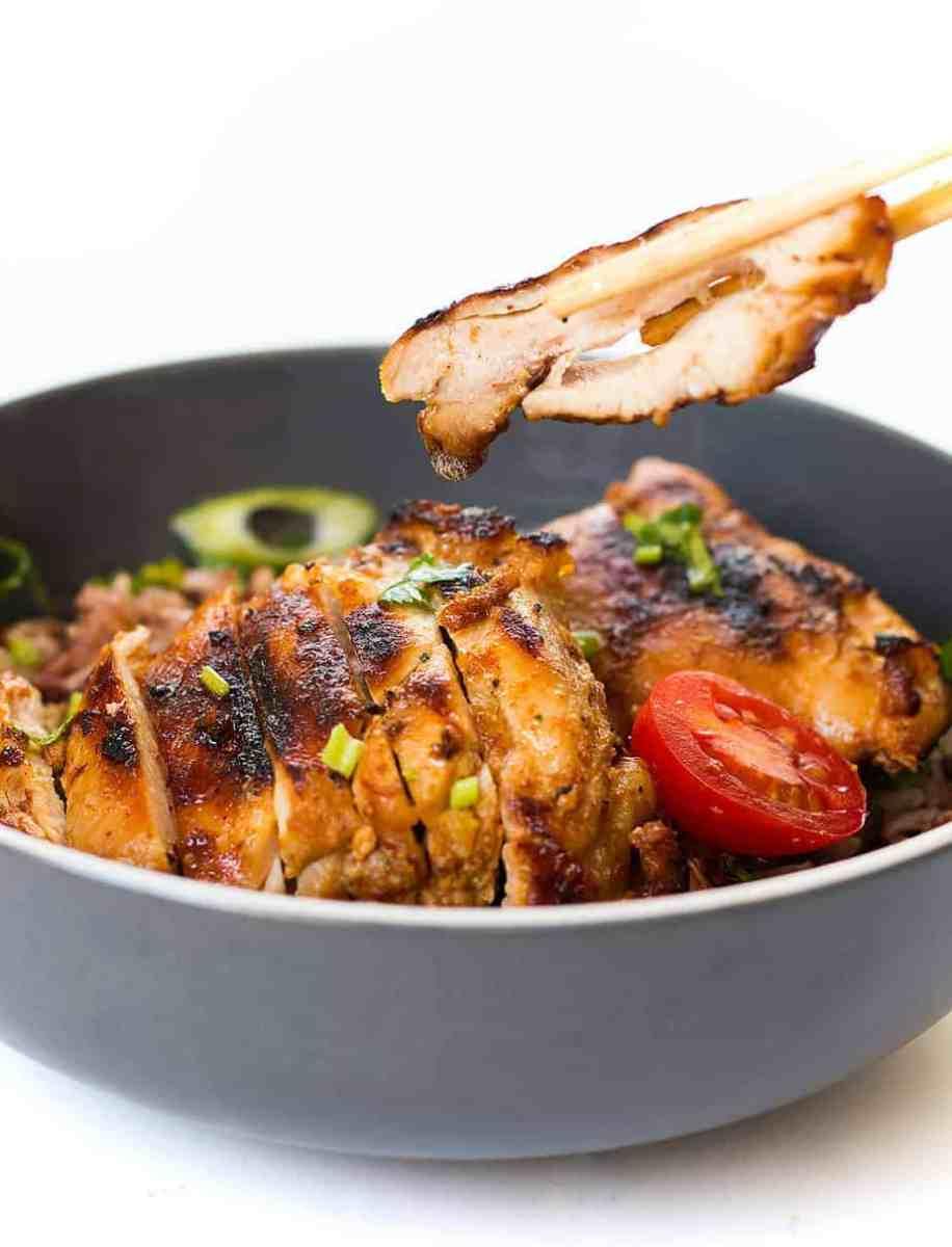 Grilled Honey Glazed Chicken Recipe