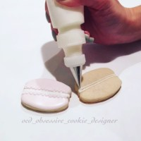 Macaron Sugar Cookies | OCD Obsessive Cookie Designer x Posh Little Designs