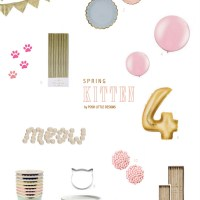 Kitten Party Inspiration | Posh Little Designs