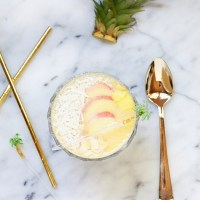 Pineapple Smoothie Bowl | Posh Little Designs
