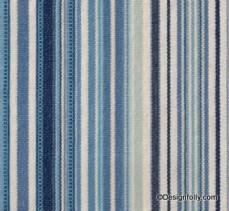 Deck Chair Stripe Fabric Indigo