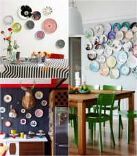 Decorating Kitchen Walls With Plates & Hanging Wall ...