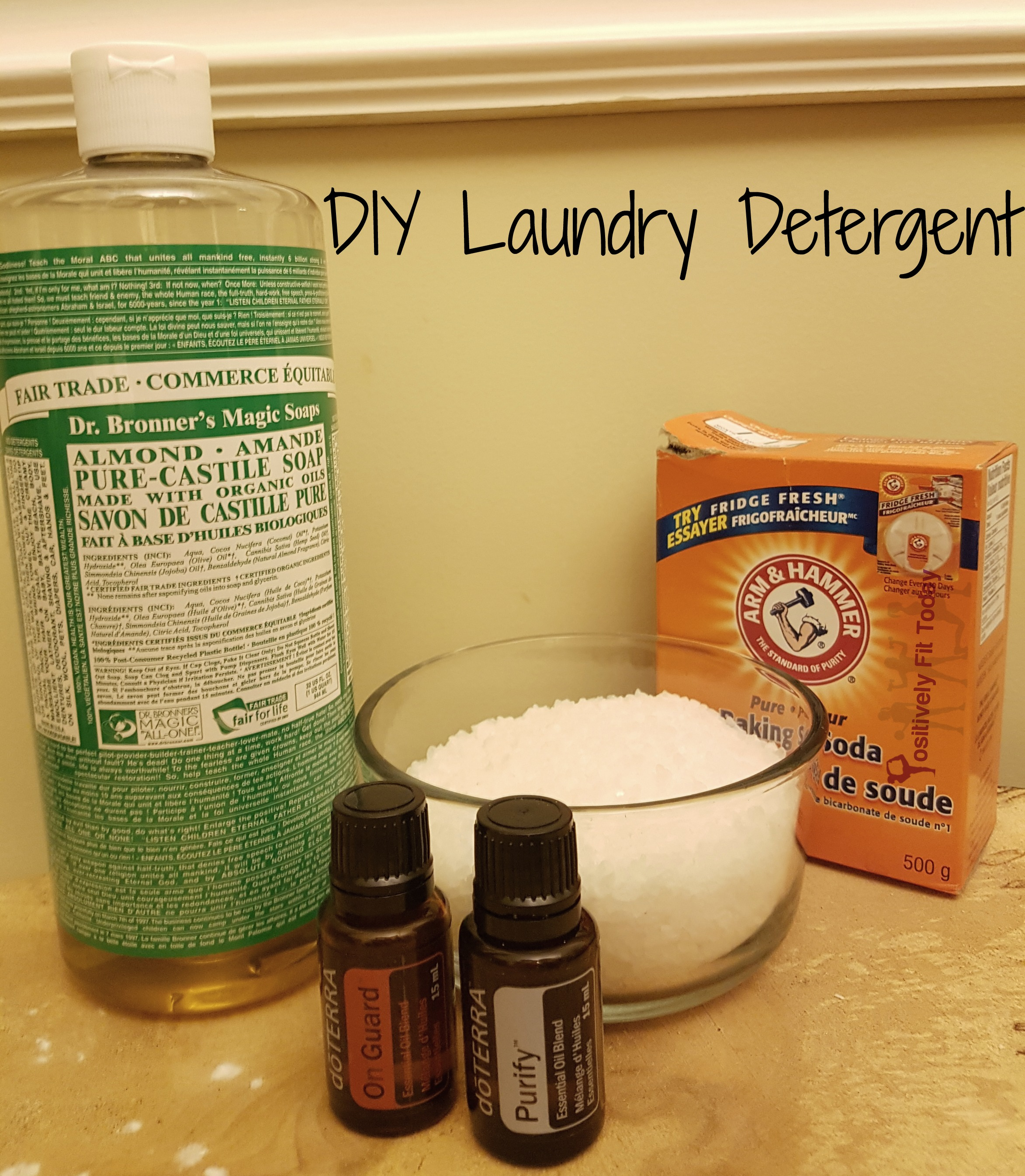 Diy Soap With Essential Oils Doterra Laundry Soap Diy Diy Do It Your Self