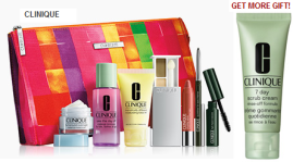 Clinique gift @ Nordstrom