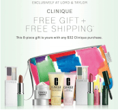 Clinique gift Lord&Taylor