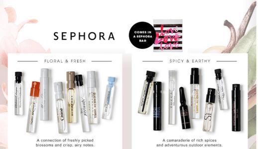 Sephora free gift
