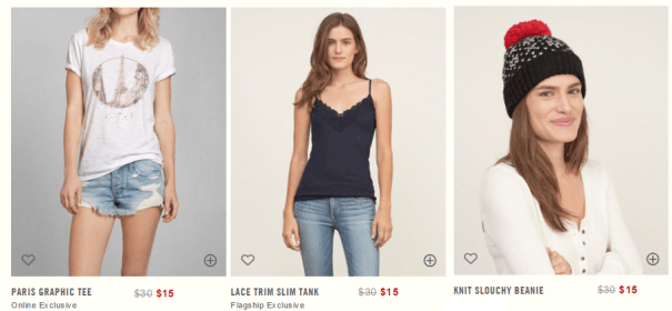 Abercrombie&Fitch Sale