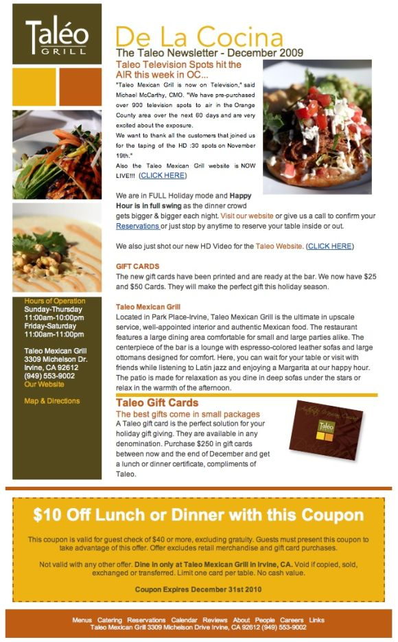 Restaurant Email Marketing What\u0027s Working Now? - POS Sector