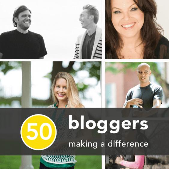50 blogueurs santé, fitness et bonheur font la différence